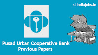 Pusad Urban Cooperative Bank Passing Officer Previous Papers