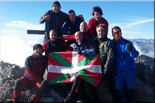 Mont Valièr mendiaren gailurra 2.838 m. --  2016ko irailaren 21ean