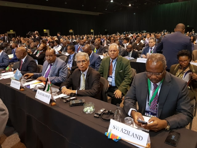 Sahrawi Republic participates in the Japan-Africa Public Private Economic Forum in South Africa
