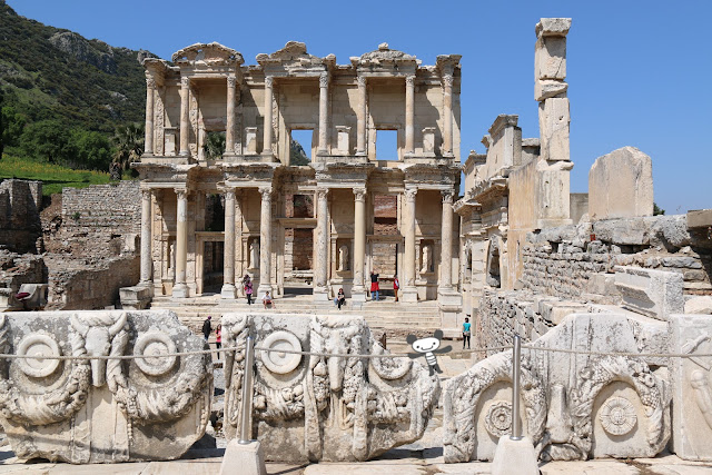 Ancient Ephesus in Kusadasi, Turkey