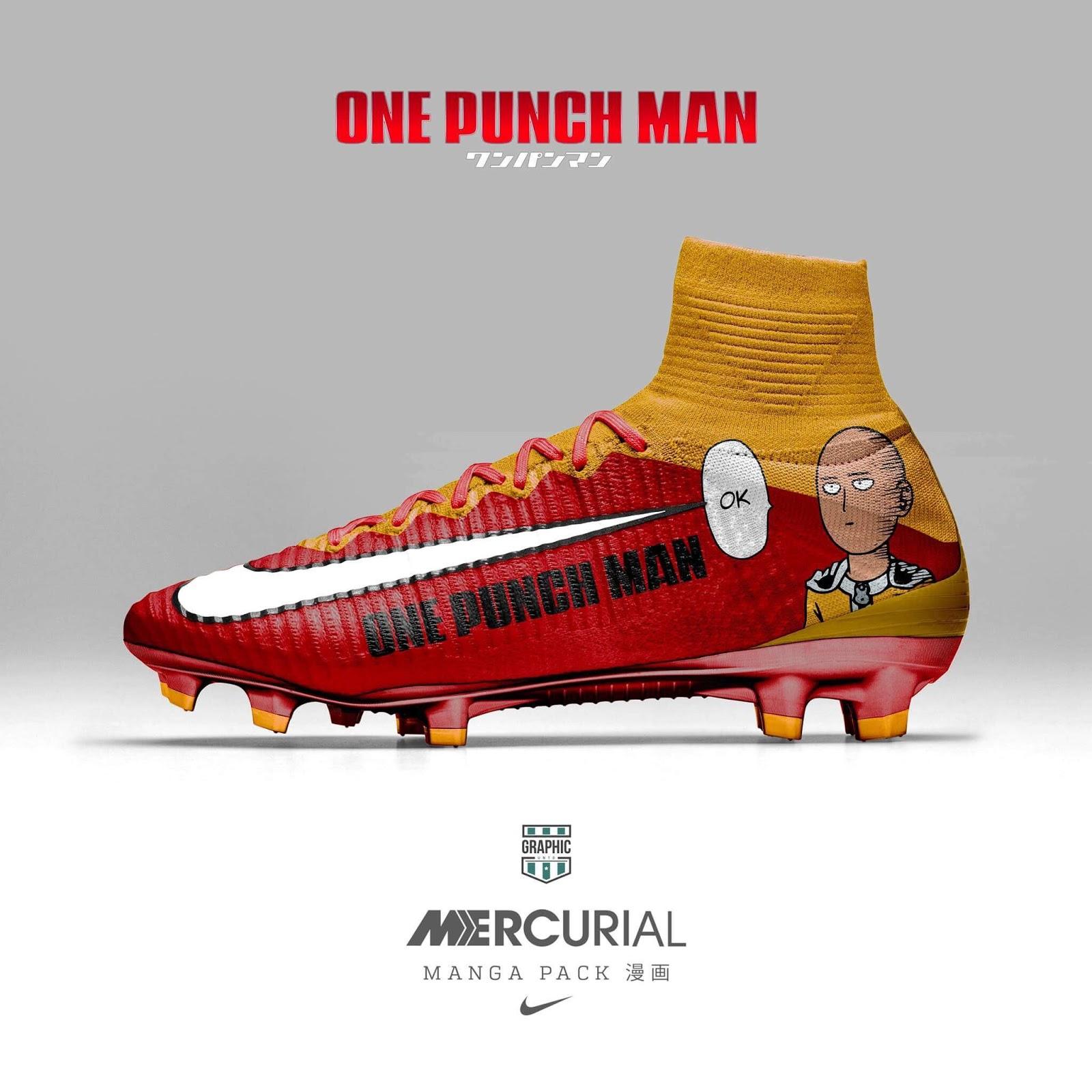 f7e446e4c44 Nike Mercurial Manga Pack - One Punch Man ...