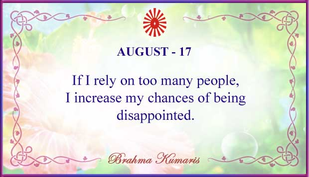 Thought For The Day August 17