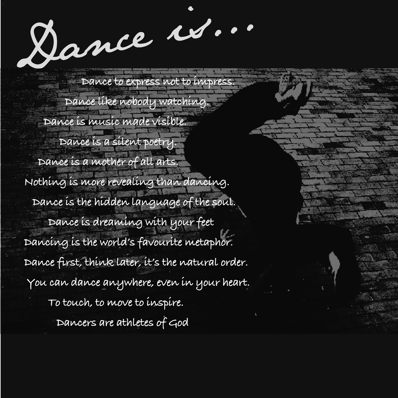 quotes about dance tumblr - photo #30