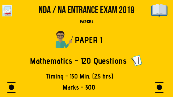 paper 1 of nda entrance exam 2019 of mathematics