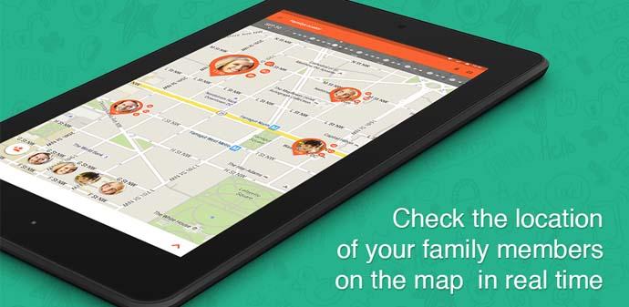 Aplikasi GPS Phone Tracker