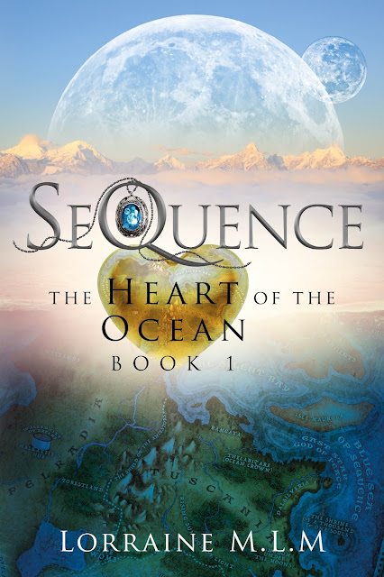**COVER REVEAL** SeQuence: A Young Adult Fantasy Romance  (The Heart of the Ocean Series Book 1)