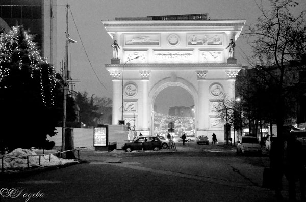 Порта-Македония-Macedonia-Gate