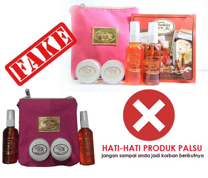 Cream Tabita Mini Palsu