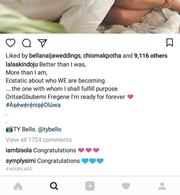 Image result for Lala Akindoju and celebrity Chef, Gbubemi Fregene