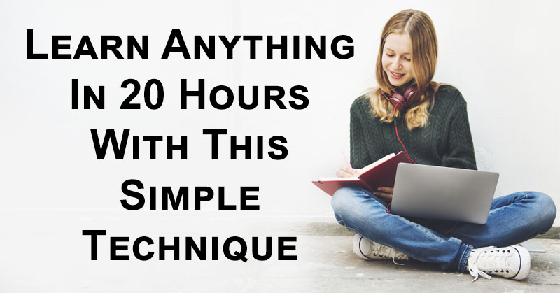 the first 20 hours how to learn anything