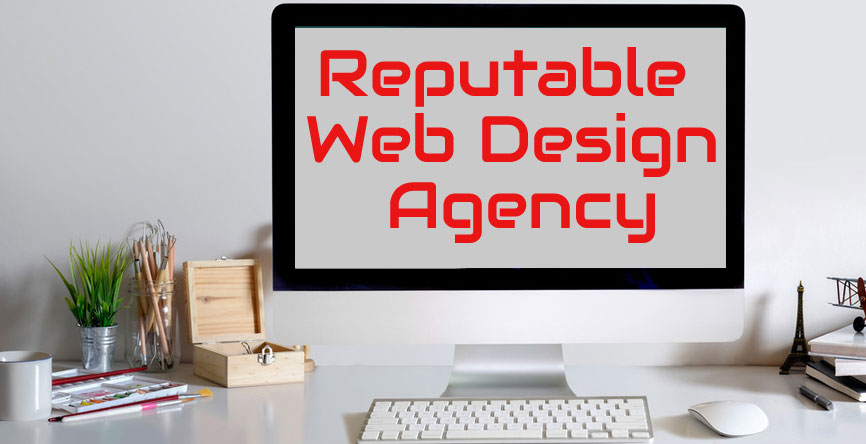 reputable web design agency