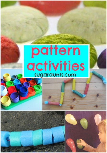Pattern Activities For Kids Math Play The Ot Toolbox