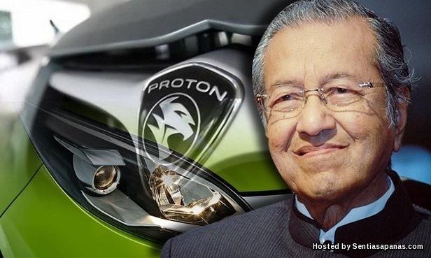 Proton Dan Fitnah Terhadap Tun Mahathir