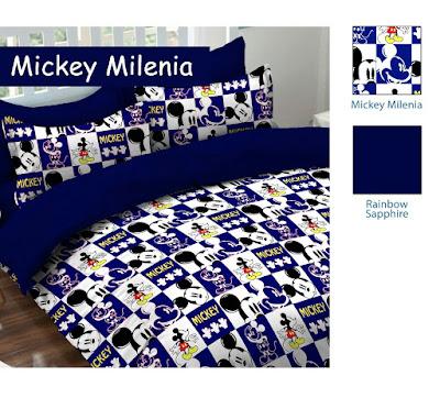 Jual Sprei Mootif Mickey Milenia terbaru 2018