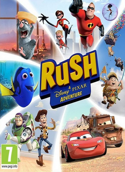โหลดเกมส์ RUSH: A Disney • PIXAR Adventure