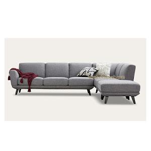 Set Kursi Sofa Tamu L Sudut Jati Modern Seri Venus