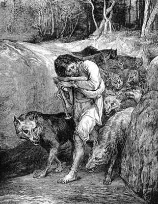 Claudia Gaillard, Manusia serigala dari Burgundy