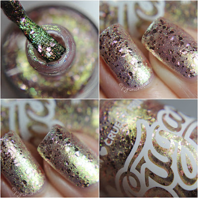 Sugarpill Celestia by Bedlam Beauty - macro quad