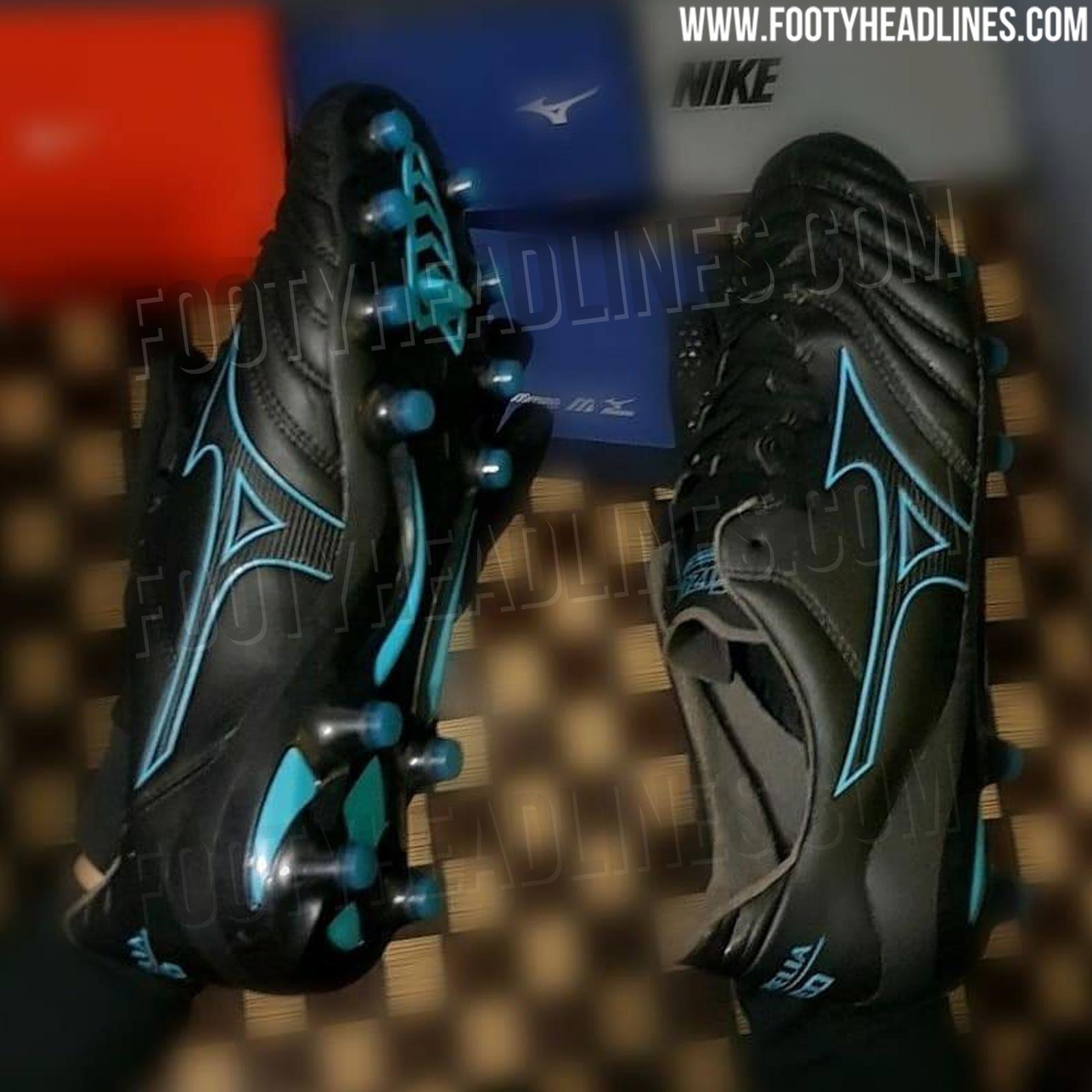 newest 0c96e 6213f Stunning Black / Turquoise Mizuno Morelia Neo 2 2019 Boots ...