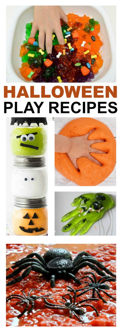 50 HALLOWEEN PLAY RECIPES FOR KIDS- these are so cool!  pin!  #Halloween #playrecipes #kidsactivities