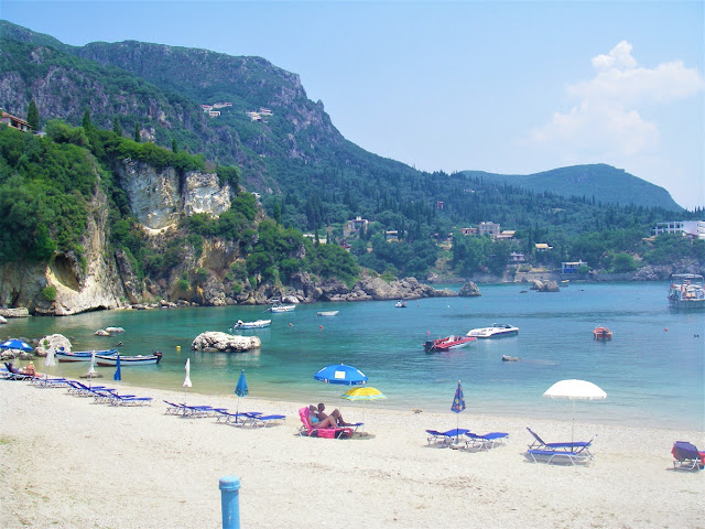 bästa stränder i Europa - Korfu Palaiokastritsa