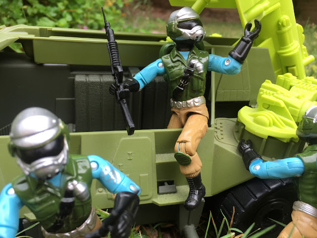 2017, Black Major, Red Laser Army, Steel Brigade, Mail Away, 1993 Monster Blaster APC, Mega Marines
