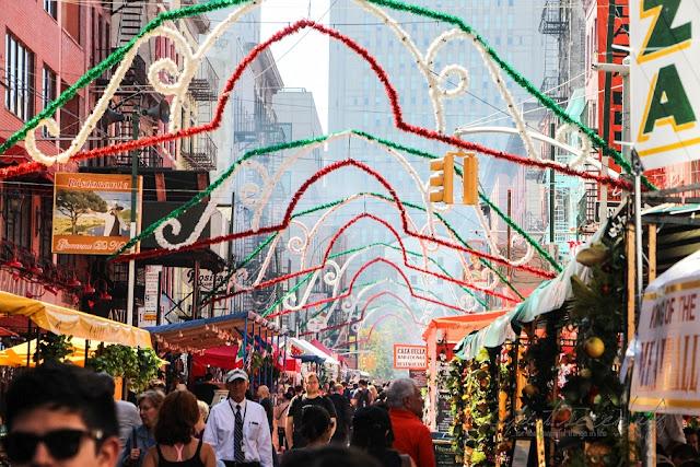 New York,  Festa di San Gennaro