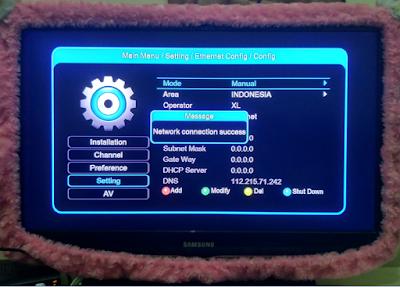 Konfigurasi Modem 3G pada RX Getmecom HD 009 New