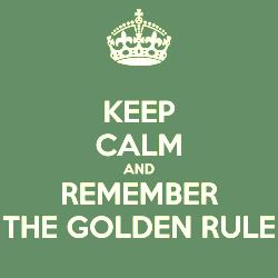 regra de ouro
