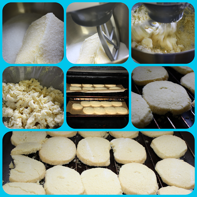 shortbread making and baking