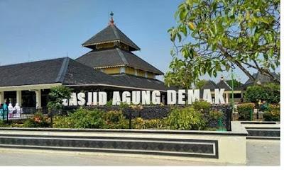 Masjid Agung Demak - pustakapengetahuan.com