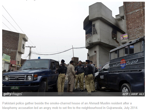 Blasphemy Accusation Draws Mob to Pakistan Town's Only Christian Street