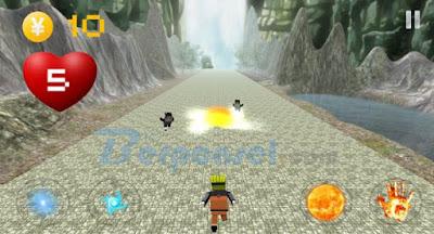 game ninja untuk android terbaik, terseru, terbaru