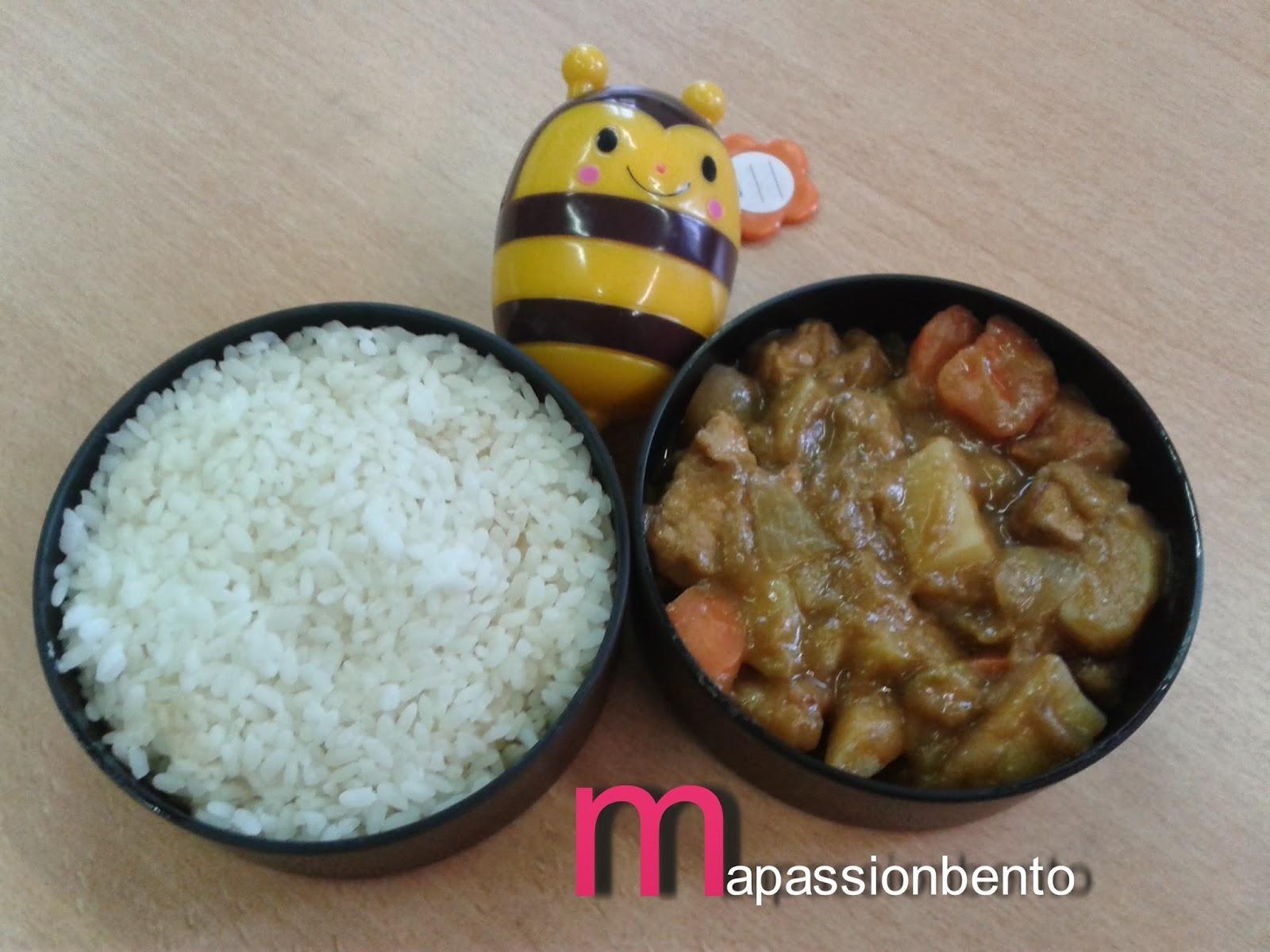 ma passion bento bento curry japonais traditionnel. Black Bedroom Furniture Sets. Home Design Ideas