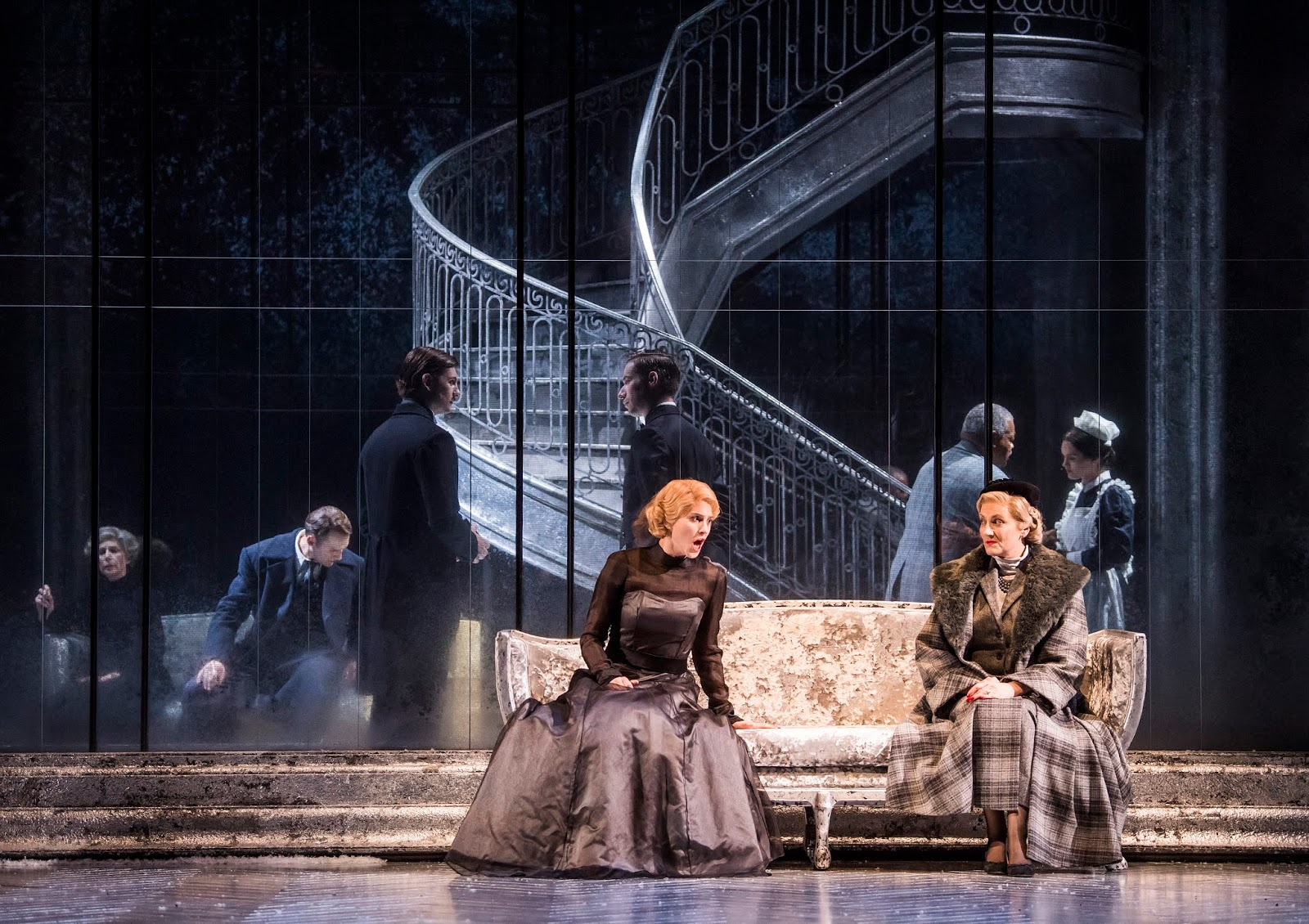 Gripping psychodrama with a nod to Hitchcock: Barber's Vanessa at Glyndebourne