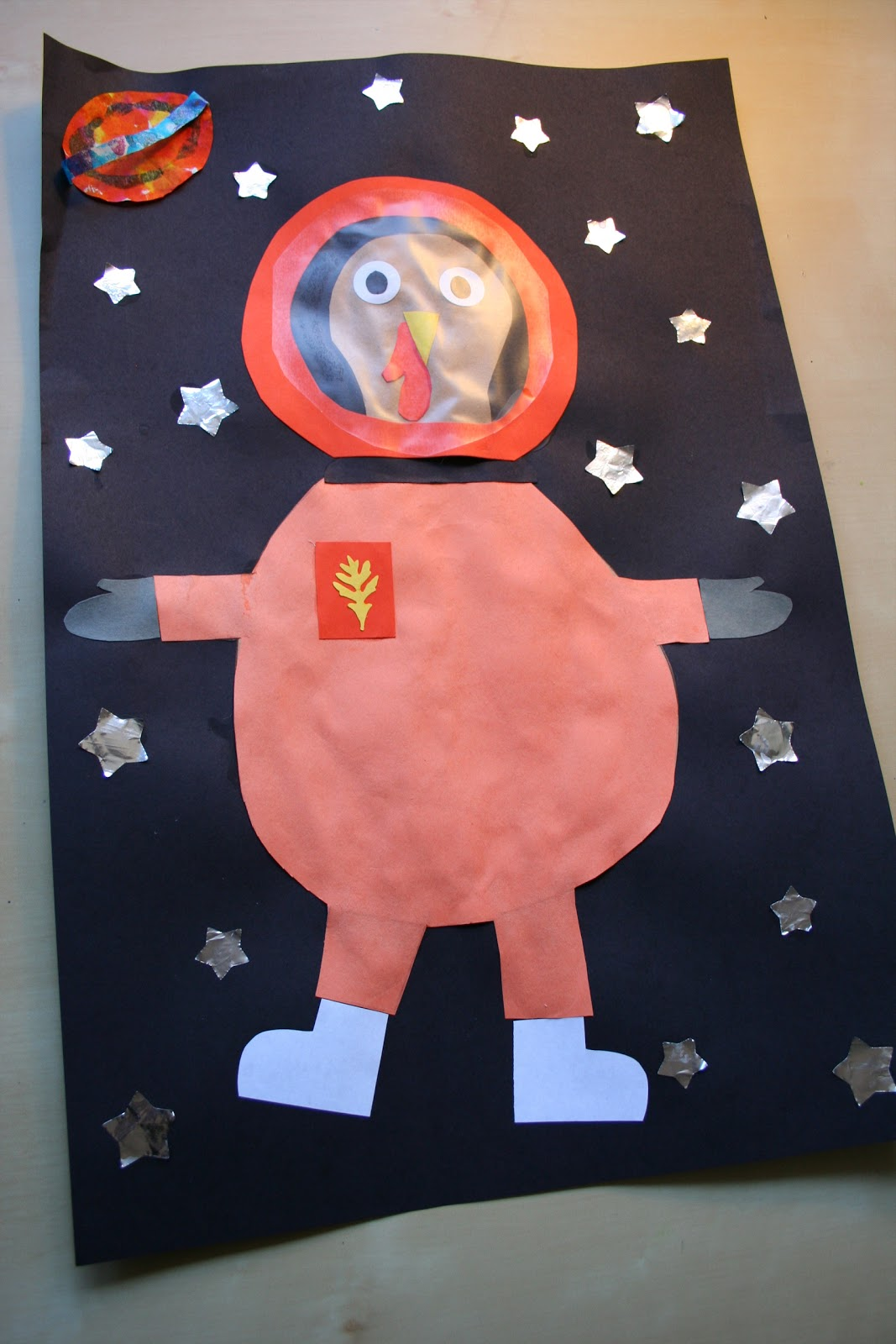 part 2 astronaut turkey aka turkey not - Pictures Of Turkeys For Kids 2