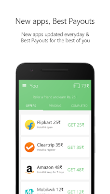yoo recharge app refer and earn