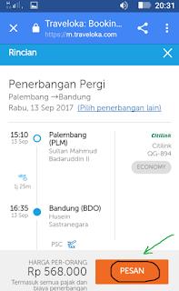 pesan tiket pesawat online,pesan tiket pesawat citilink,tiket pesawat,cara pesan tiket lewat traveloka