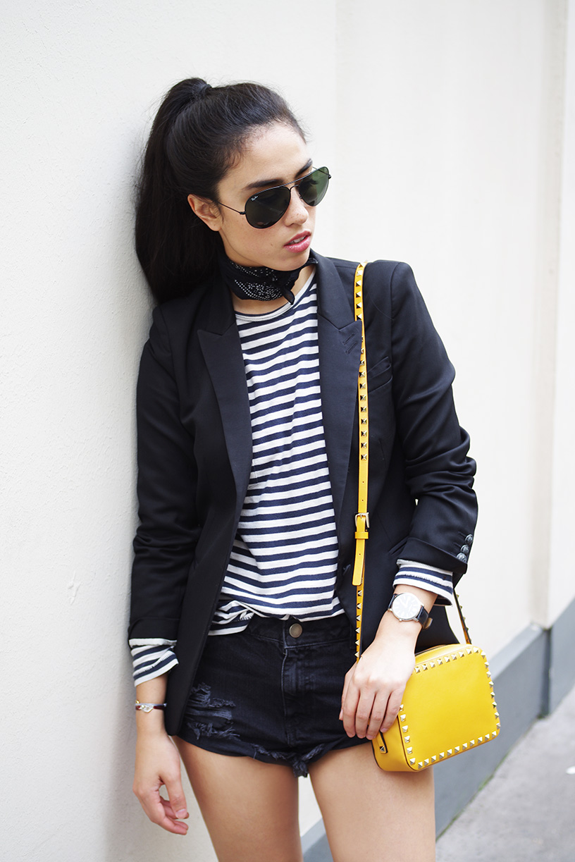 Elizabeth l Pop of colour outfit l Zara The Kooples Asos Valentino l THEDEETSONE l http://thedeetsone.blogspot.fr