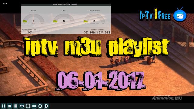 iptv m3u playlist 06-01-2017