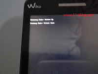 Recovery mode Wiko Rainbow