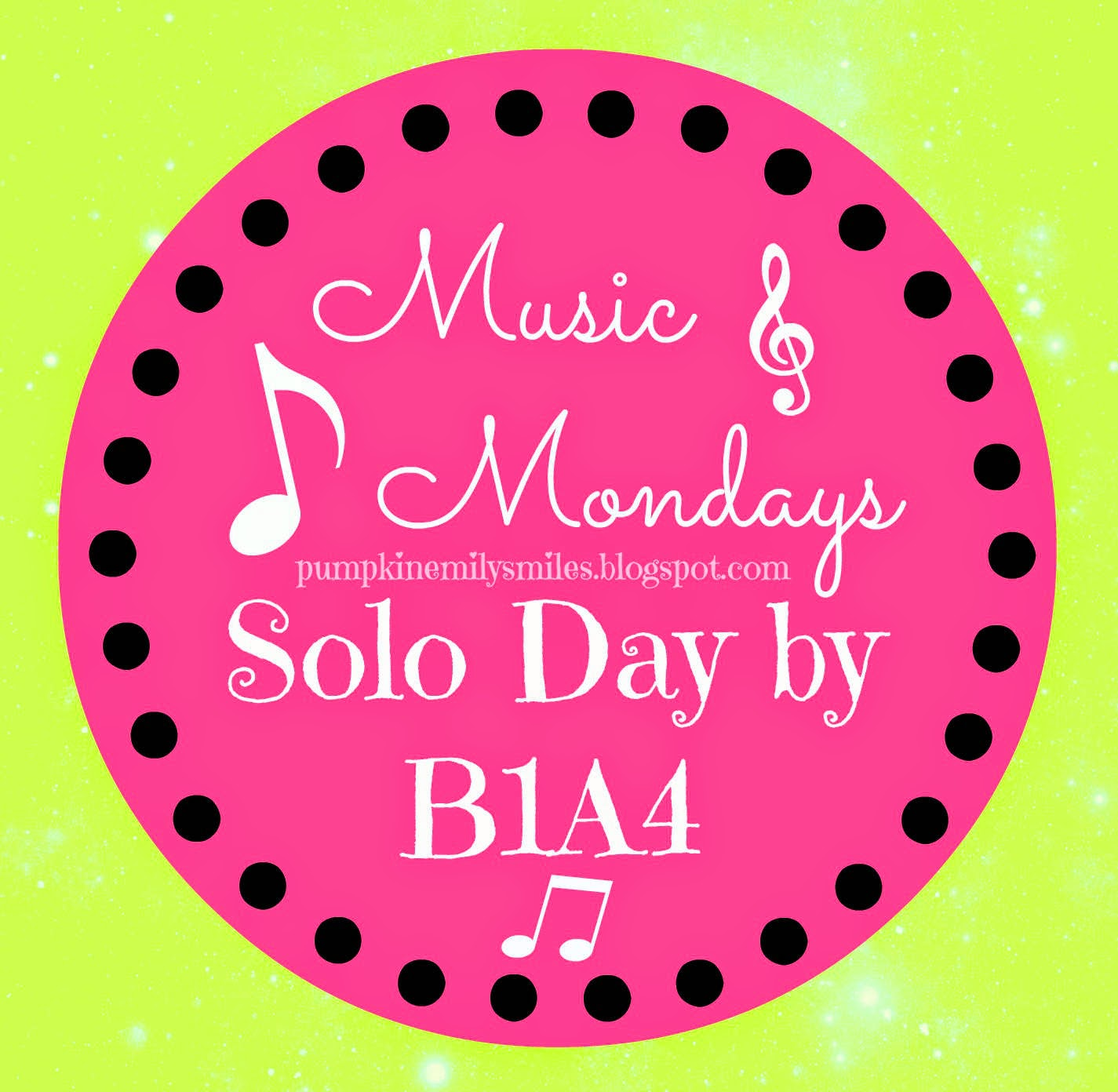 Music Mondays Solo Day by B1A4