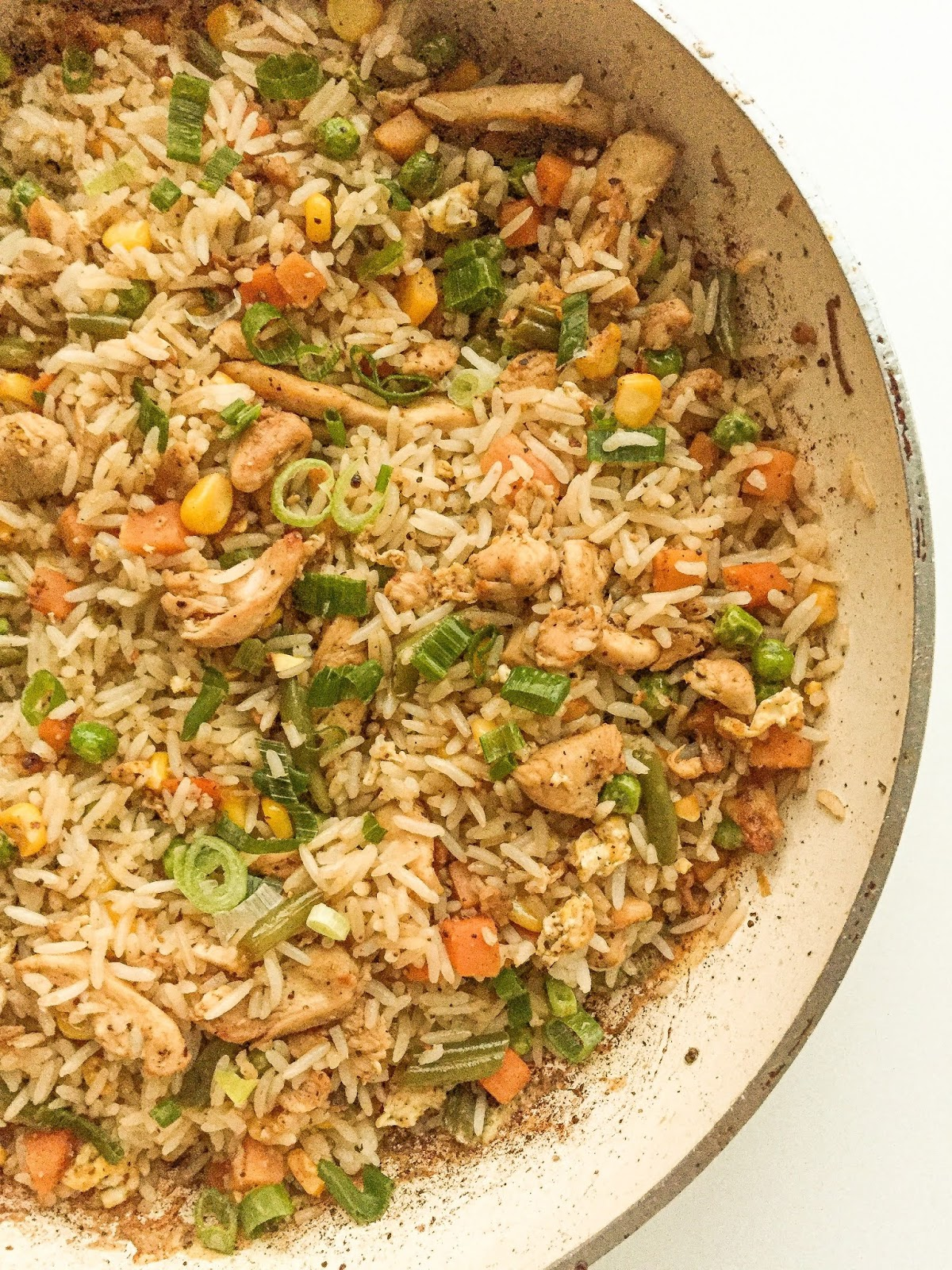 chicken-egg fried rice