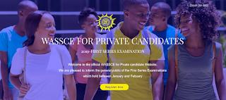 WAEC GCE Registration Form 2019/2020 | January/February (1st Series)