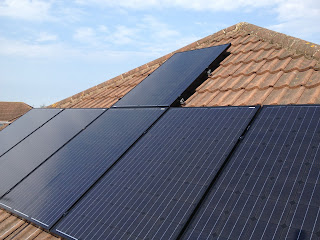 1.5kw solar pv installed facing West