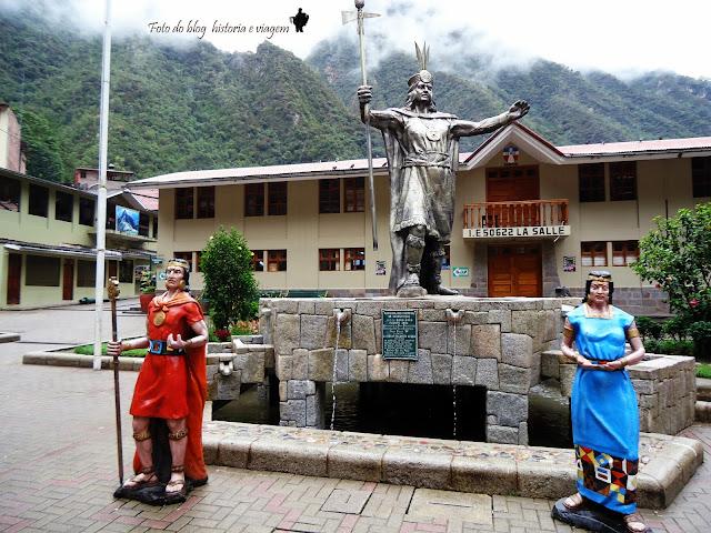 Homenagem a Pachacuti  Machu Picchu