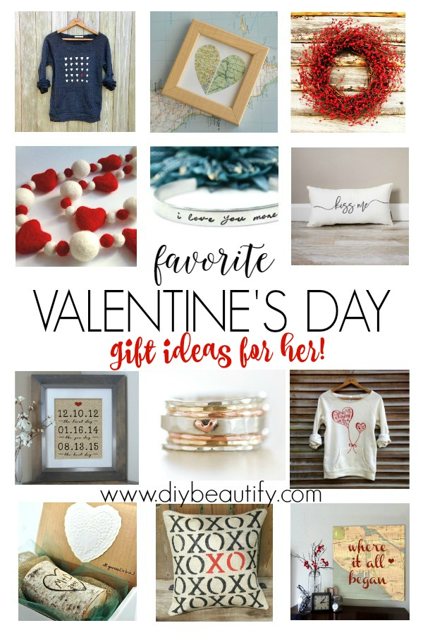 Favorite Valentines Day Gift Ideas for Her | DIY beautify