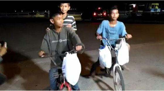 Video: Kangen Ibu, 3 Bocah Nekat Bersepeda Dari Palembang ke Ciledug