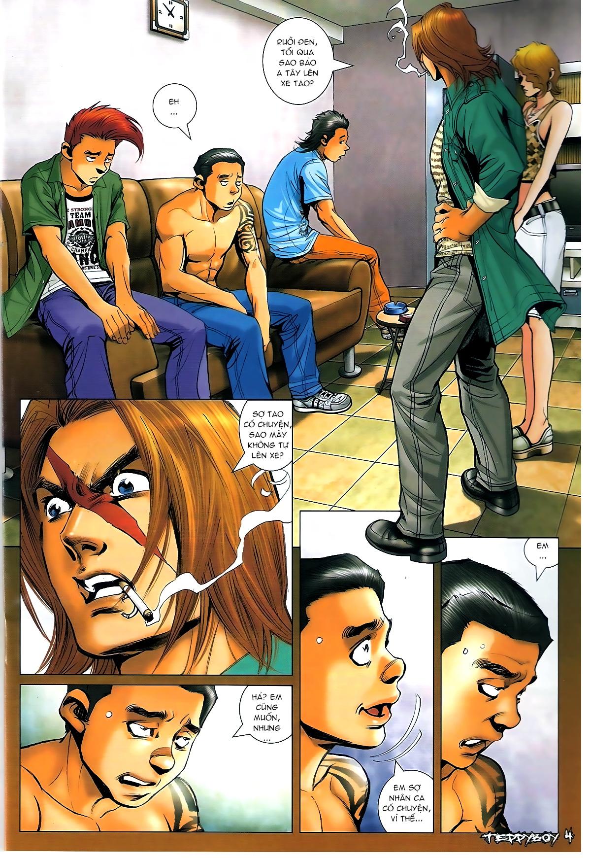 Người Trong Giang Hồ - Chapter 1331: Chạm trán - Pic 2