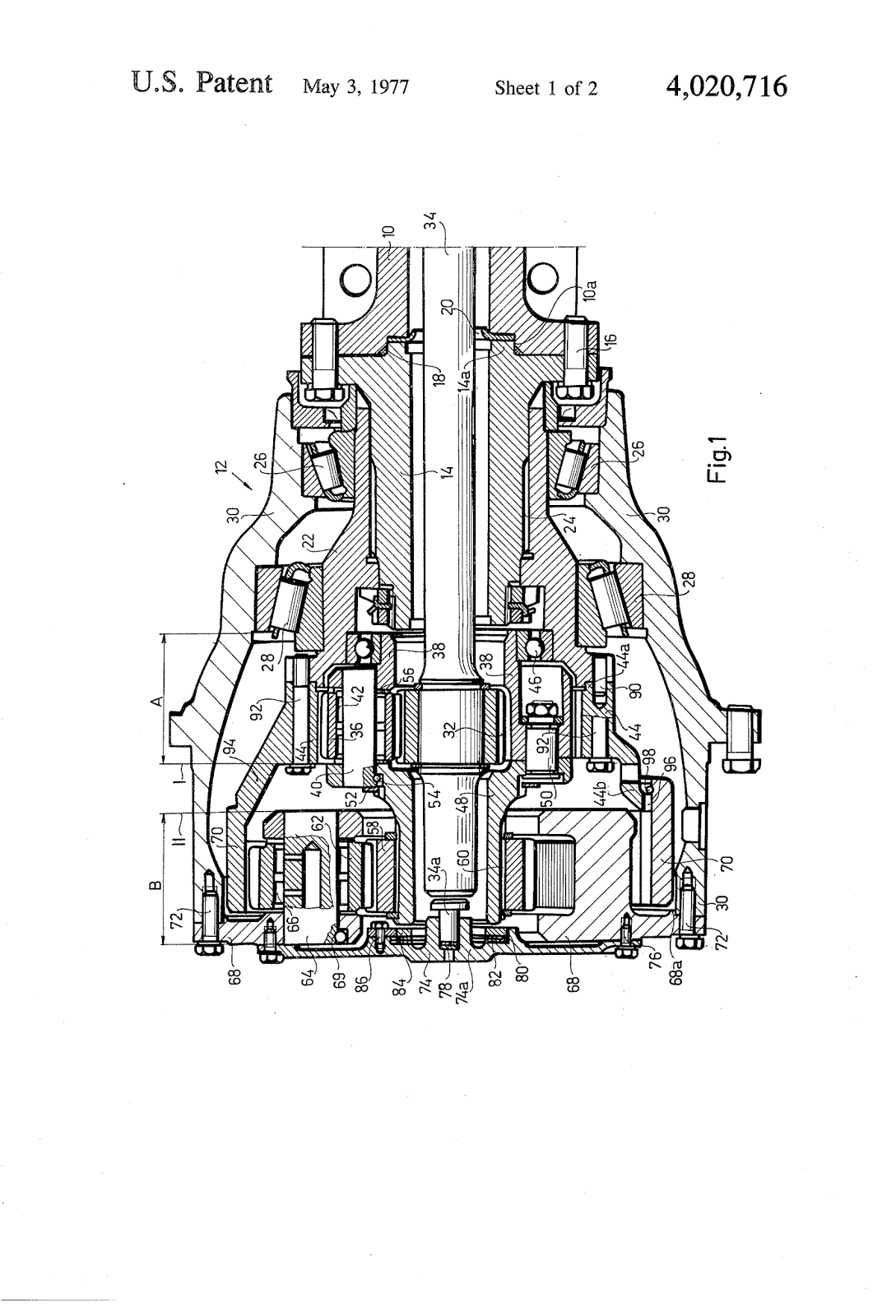 Planetary Transmission Wheel Drive Mechanism